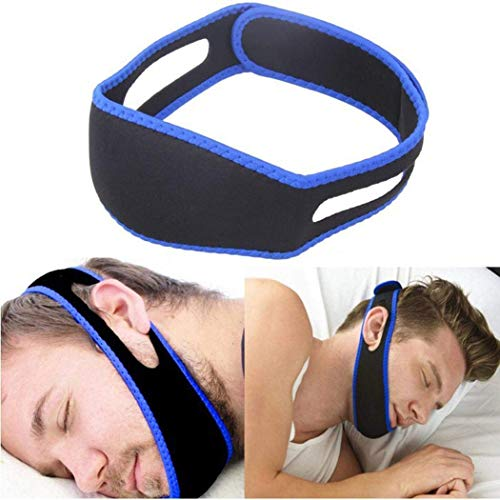 Anti-Schnarch-Kinnriemen – Schnarch-Schlaf gegen Kinn, Anti-Schnarch-Gurt für Schlaf-Nase, Gesundheits-Gerät, Lösung für Nacht-Werkzeug