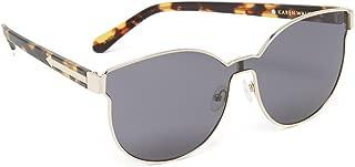 karen walker gold sunglasses
