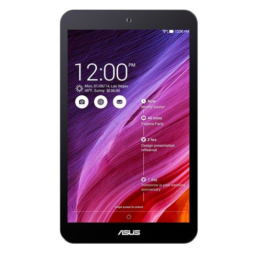 ASUS Memo Pad 8 ME181c 8-inch Tablet (Black) - (Intel Atom Z3745 1.33GHz, 1GB RAM, 16GB Storage, WLAN, Bluetooth, Camera, Android 4.4)
