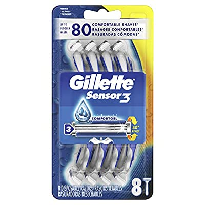 Gillette Sensor3 Men's Disposable