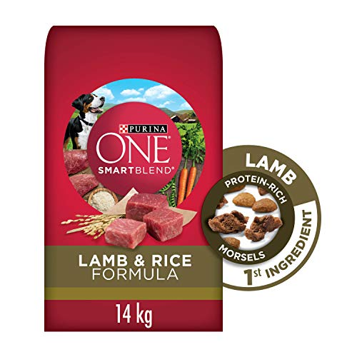 Purina ONE Smartblend Natural Dry Dog Food, Lamb & Rice 14 kg