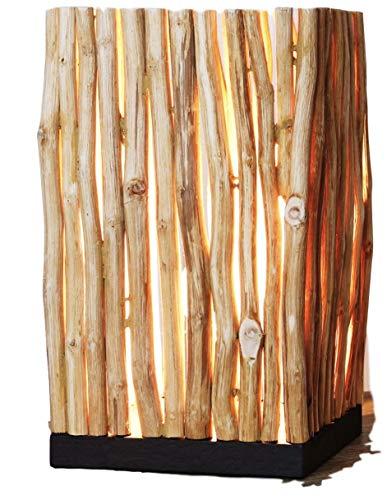 Design Tischlampe aus Treibholz HIGHLAND (Feel Good)