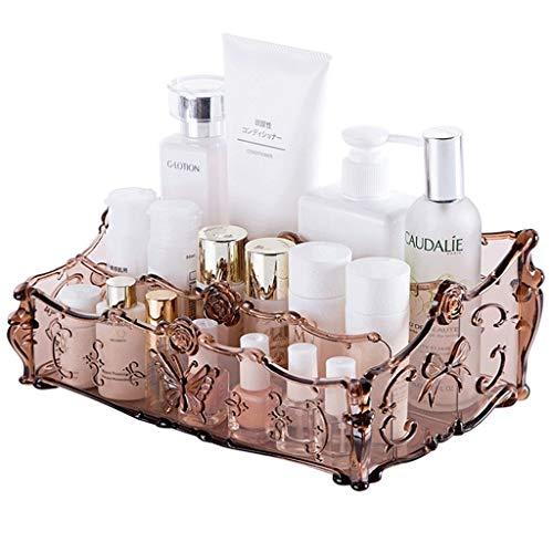 Stark und schön Make-up-Box Desktop Transparent Storage Box Lippenstift Nagellack-Maske Essence Finishing Box Startseite Schlaf Kosmetik Storage Box Makeup Tools