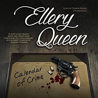 Calendar of Crime audiobook cover art