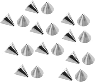 20pcs Polish Stainless Steel 14g Replacement Spike Piercing Jewelry Men Women   Item Gauge - 1.6x4mm