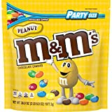 M&M'S Peanut Chocolate Candy, 38-Ounce Party Size Bag, Yellow from AmazonUs/MARUO