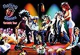 Schatzmix Blechschild Musik Rolling Stones Karikatur