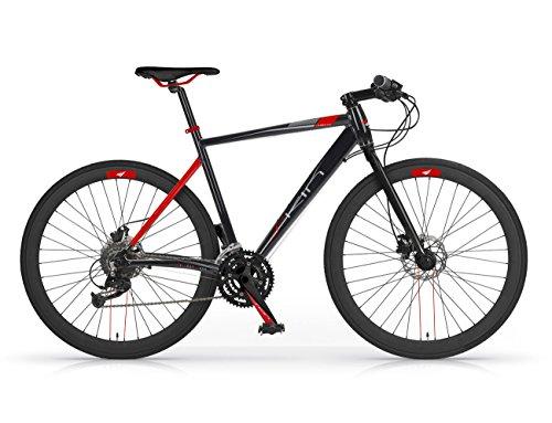 MBM Skin, Bicicletta Ibrida Uomo, Nero A01, 58