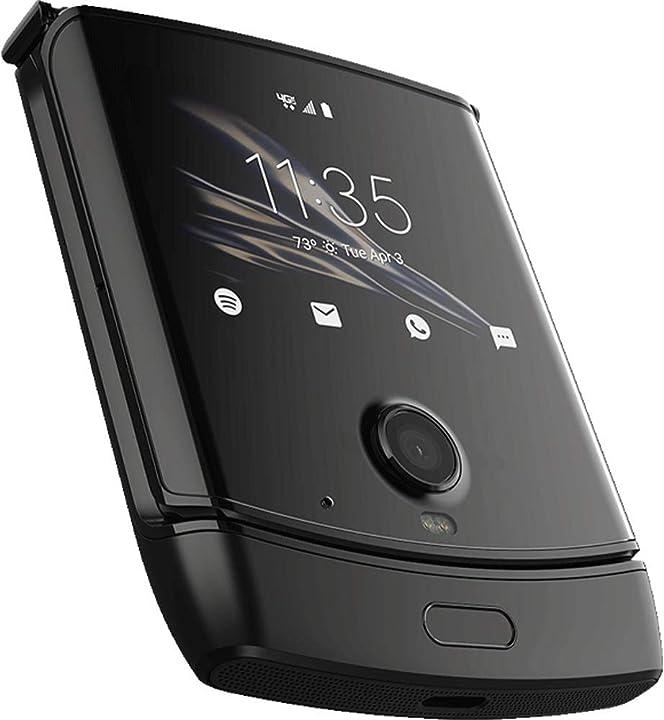Smartphone motorola razr (2019) 128gb, 6gb ram, black B0881ZDRD1