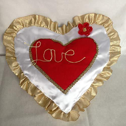 Valentins Herz, Geschenk-Idee, Valentinsgeschenk, Hochzeitskissen, Geschenke für Verliebte