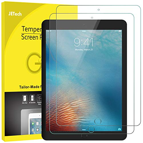 JETech Panzerglas Kompatibel mit iPad Mini 5 (2019) & iPad Mini 4, Gehärtetem Glas Bildschirmschutzfolie, 2 Stücke