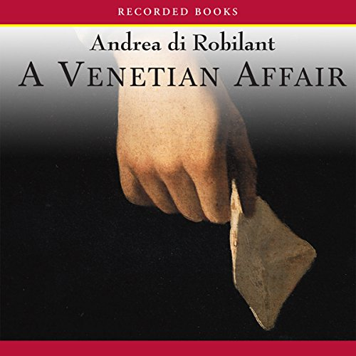 A Venetian Affair audiobook cover art