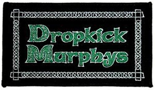 Dropkick Murphys Rock Music Band Patch - Green Logo - Applique