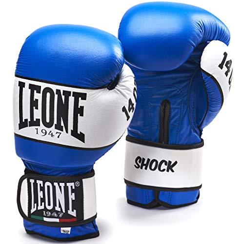 Leone 1947 Shock Boxhandschuhe, Blau, 10 Uz