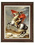 Eliteart Kunstdruck auf Leinwand, Motiv: Napoleon