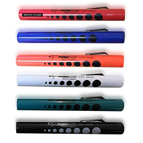 Primacare DL-9224 Disposable Diagnostic Penlight, Colored,...