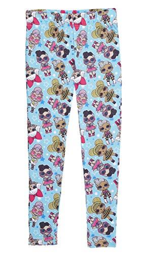 L.O.L. Surprise ! LOL Surprise Leggins Niña | Ropa de Niñas de 4 a 12 años | Pantalones Ropa Chica Con Muñecas LOL | Mercancía con Licencia Oficial (9/10 años, Paquete de 1)