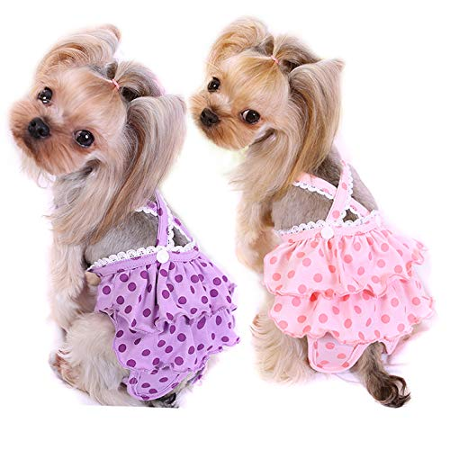Female Dog Diapers With Suspenders