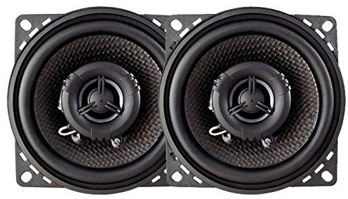 AMPIRE Koaxial-Lautsprecher ohne Grill, 10cm