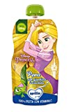 Mellin, Pouch Merenda Disney Principesse Pera - 6 Confezioni da 110 gr
