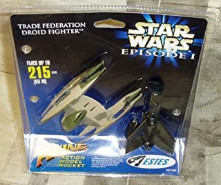 Star Wars Episode I Trade Federation Droid Fighter Flying Action Model Rocket by Estes