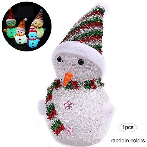 Muñeco de Nieve de los muñecos de Nieve de Navidad LED Brilla...