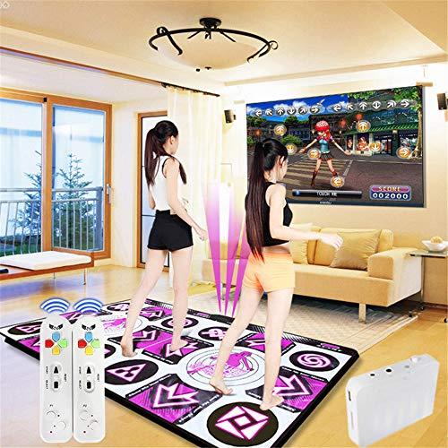 SHDT Doppeltanzmatte, TV Computer-Dual-Use, 3D-Laufdecke Yoga-Spiel-Maschine Massage Pad Für Erwachsene Kinder