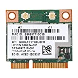 Wireless Network Card for HP for Broadcom BCM943228HMB, Bluetooth 4.0 300Mbps 2.4 and 5 GHz Dual Band PCI-e Wireless LAN Card for Windows 2000/XP/VISTA/7