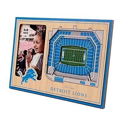 NFL Detroit Lions 3D StadiumViews Picture Frame