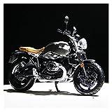 El Maquetas Coche Motocross Fantastico Simulación 1:12 Micro Aleación para BMW Tomahawk HP2 Deporte Motocicleta Modelo Colección Decoración Regalo Juguete Coche Regalos Juegos Mas Vendidos