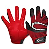Cutters Gloves REV Pro Receiver Glove (Pair), Maroon, 3X-Large