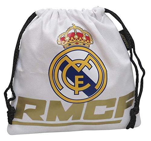Real Madrid Saco merienda Bolsa Gimnasio Fitness Ejercicio