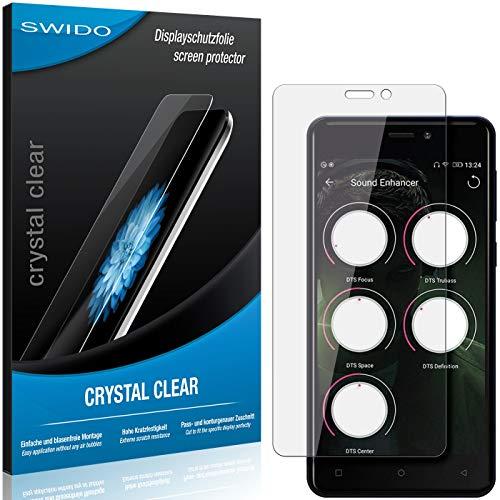 SWIDO Schutzfolie für Allview P9 Energy Mini [2 Stück] Kristall-Klar, Hoher Festigkeitgrad, Schutz vor Öl, Staub & Kratzer/Glasfolie, Bildschirmschutz, Bildschirmschutzfolie, Panzerglas-Folie