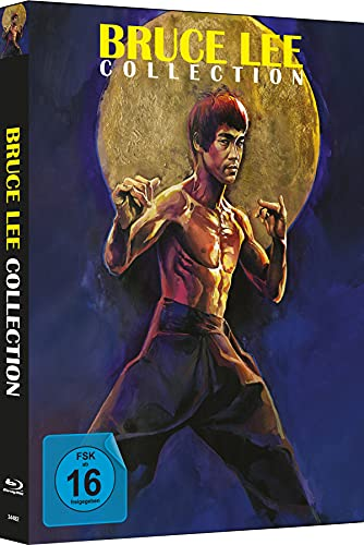 Bruce Lee - Die Collection - 4-Disc Mediabook - Cover A - Limited Edition auf 333 Stück [Blu-ray]