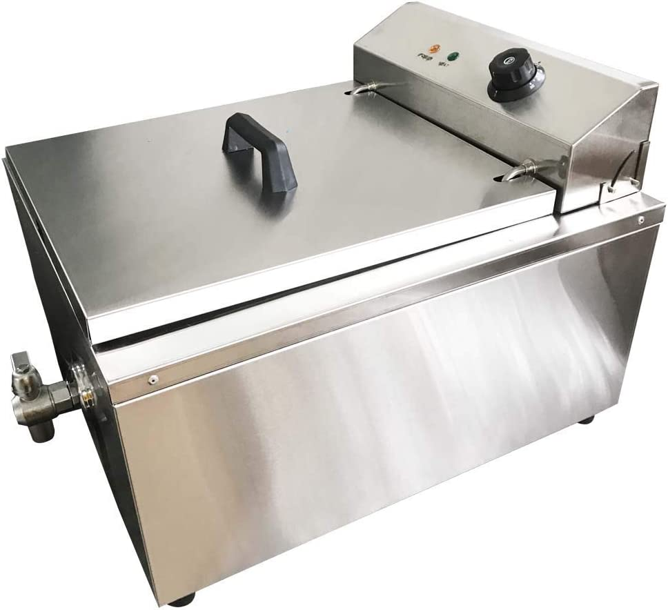 INTSUPERMAI 110V 2KW Very popular Electric Industrial Jacksonville Mall Cake Shallow Funnel Dee