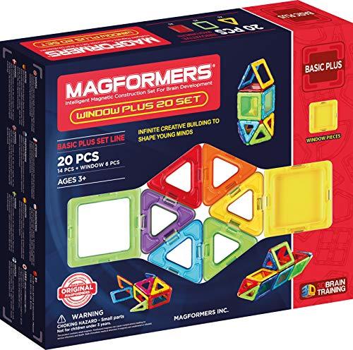 Magformers Fr - 715001 - Jeu de construction - Window, 20 Pièces - Version Française