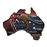 Australien Känguru 3D Kühlschrank Magnet Travel Souvenirs Collection, Australien Kühlschrank Magnet Home und Küche Dekoration Magnet Sticker