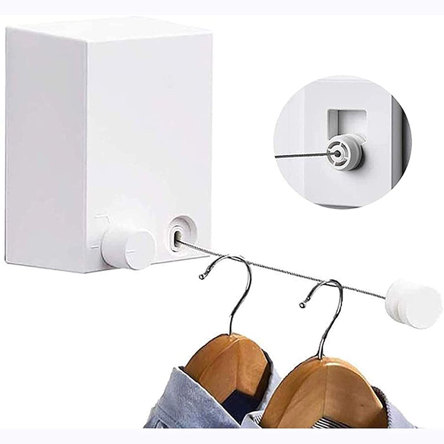 BaiJaC Drying All stores are sold racj Lines Me Clothesline 4 years warranty Retractable 4.2
