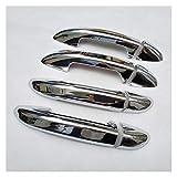 YAN Firm FIT FOR Volkswagen Passat CC B6 B7 3C B7.5 7.5 Accesorios de la Cubierta de la manija de la Puerta del Cromo de la Variante del sedán. (Color : A)