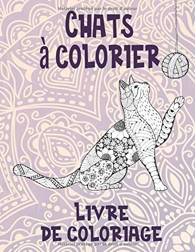 Chats à colorier - Livre de coloriage PDF Books