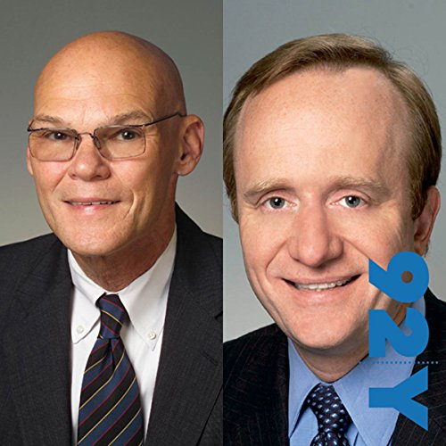 In the News with Jeff Greenfield at the 92nd Street Y featuring James Carville and Paul Begala audiobook cover art