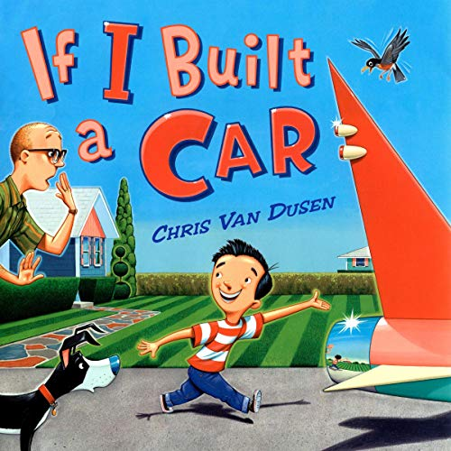 If I Built a Car audiobook cover art