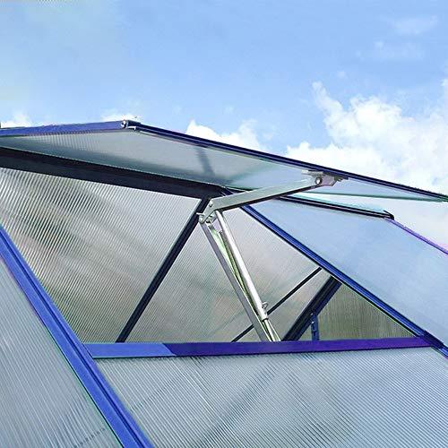 Spetan Automatischer Fensteröffner für und Gewächshaus, Fensterheber durch Temperaturgesteuert Hubkraft7 kg, Hubhöhe 40 cm
