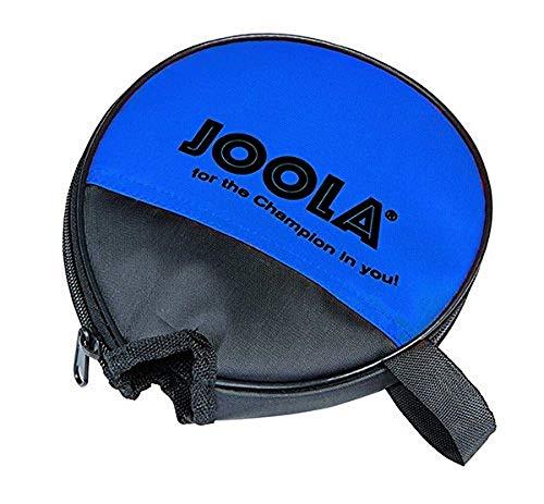 JOOLA Tischtennishülle ROUND Tischtennistasche Passend für 1 Tischtennisschläger, Blau, One Size