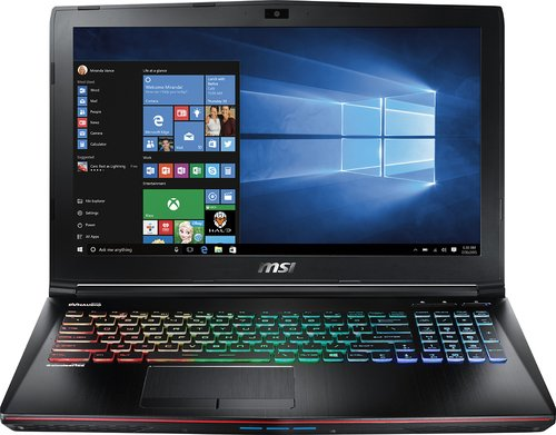"MSI ge62vr Apache Pro-086 - 15.6"" - i7 - 6700HQ - NVIDIA GTX 1060 - 16 GB - 1TB HDD + 256GB SSD"