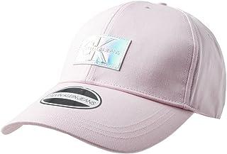 CALVIN KLEIN JEANS Womens Iridescent Baseball Cap Pink ONE Size