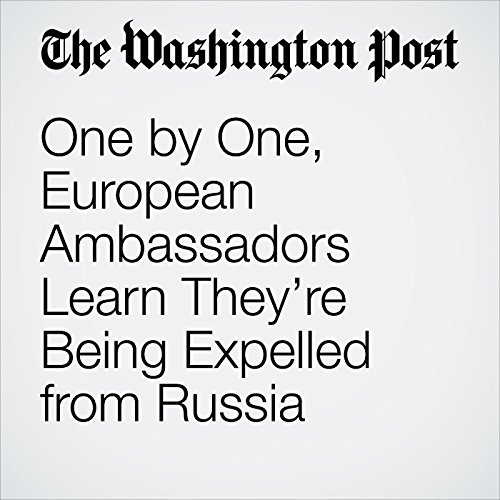 One by One, European Ambassadors Learn They're Being Expelled from Russia copertina