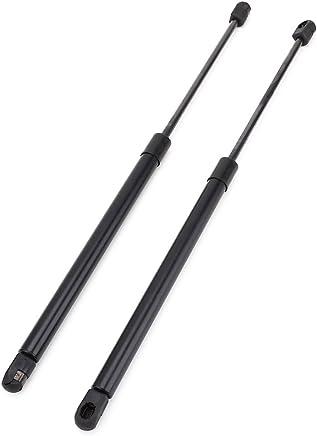 Surepromise AA714 - Resortes de Gas para Maletero (2 Unidades), Color Negro