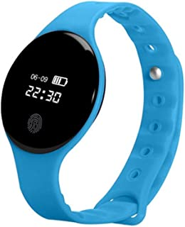 Dustproof Waterproof Touch Screen Gift Smart Bluetooth Health Monitoring Sports Pedometer Smart Bracelet Simple Fashion Electronic Watch for Android iOS Multifunctional Fitness Watch