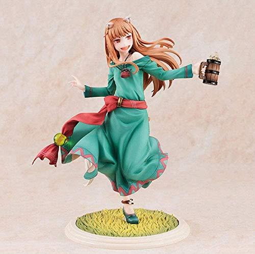 No Spice And Wolf Holo Action Figure Holo 10th Anniversary Edition Collezione di Figure di Anime Giapponesi 18cm Decorazioni per la casa Baiyujing